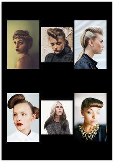 shoot 24.5.13 {moodboard} #hair #updo #frenchrolls #nudiemakeup