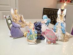 INSTANT DOWNLOAD LARGE Peter Rabbit Cut-Out Stands 10