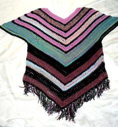 Oversize Crochet Tunic Häkeltunika Tunika XL-XXL von CrochetRagRug