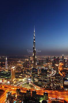UAE - Blue Hour - Burj Khalifah