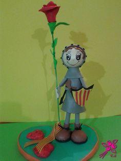 Un mundo de Fofuchas - Creacions Mileny  Fofucha Sant Jordi