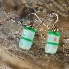 Glass Earrings Prairie