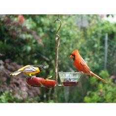 FRUIT AND JELLY BIRD FEEDER   handmade bird feeder, copper bird feeder   UncommonGoods
