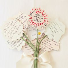 A super sweet practice bouquet idea #weddinggawker