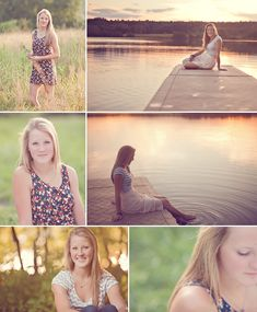 High School Senior Photography - www.bethbenoit.com/blog the pics at the lake are beautiful!