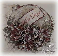Tattered Treasures: Vintage Inspired Ornaments