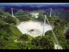 The World's Largest Radio Telescope / Arecibo Observatory / Puerto Rico