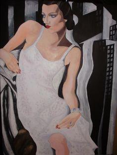 Paintings by Nick Nixon, via Behance