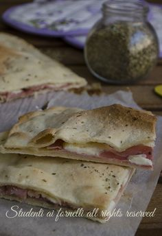 My Favorite Food, Favorite Recipes, Focaccia Pizza, Sicilian Recipes, Crepes, Yummy Appetizers, Soul Food, Street Food, Food And Drink