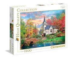 PUZZLE 1500 PZ HQC COLORFUL AUTUMN Clementoni - 31675