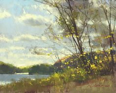 Blustery October Day by Marc Hanson Pastel ~ 8 x 10