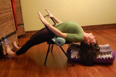 Yoga for Scoliosis, this would be great for my daughter