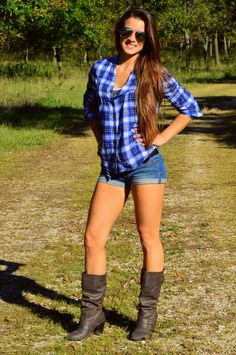 Boots outfit! this is why I love summer ;-) I have worn boots and shorts since 1970