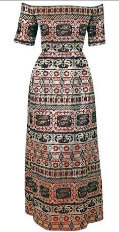 Dress    Oscar de la Renta, 1960s