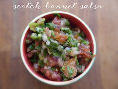 Scotch Bonnet fiery chilli salsa recipe