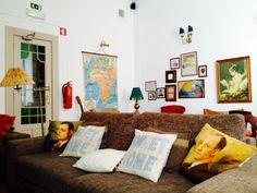 Perfect hostel lounge. Home hostel, Lisbon