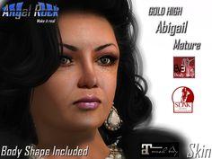 Angel Rock Skin Abigail MATURE GOLD HIGH