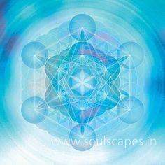 Metatron Mandala Giclee Art Canvas Print par soulscapes sur Etsy