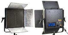 IDMX1000-v2 1000 LED Studio Light with Touchscreen DMX Control.