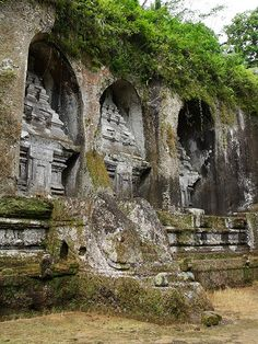 Gunung Kawi temple. Bali, 11th century  - Explore the World with Travel Nerd Nici, one Country at a Time. http://TravelNerdNici.com