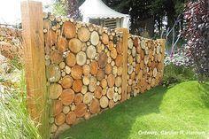 erfafscheiding met houtblokken - Google zoeken