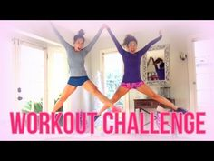 "Today's workout is going to be a surprise, even for me! I challenged my lil sis Jackelyn to a ""workout off"" where we each have to come up with an exercise at..."