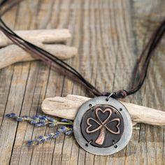 Shamrock Necklace - Anju Jewelry