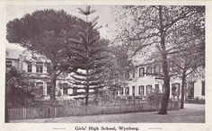 Wynberg Girls' High School - c.1919 Places Of Interest, Old Buildings, Old Pictures, Cape Town, South Africa, Past, High School, Southern, African