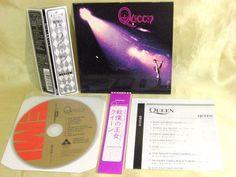 CD/Japan- QUEEN s/t (1st) w/OBI RARE mini-LP with REPLICA-OBI TOCP-67341 #HardRockPopRock