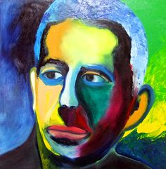 """From the Portraits Series  Oil on canvas  24"""" X 24"""""""