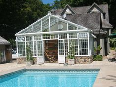 traditional porch by Conservatory Craftsmen