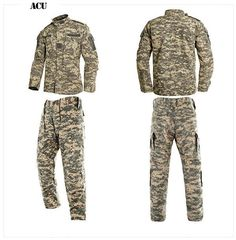 Multicam Black Military Uniform Camouflage