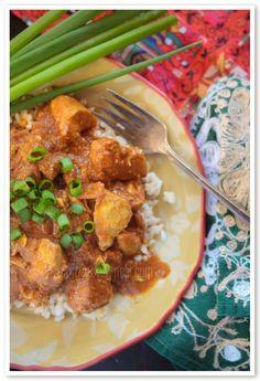 Butter Chicken Recipe | Gwen's Nest Trim Healthy Recipes, Thm Recipes, Slow Cooker Recipes, Chicken Recipes, Keto Chicken, Ketogenic Recipes, Ketogenic Diet, Free Recipes, Chicken