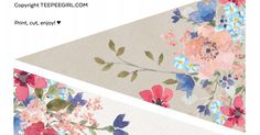 Free Floral Watercolor Banner.pdf