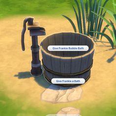 Toddler Washtub by BigUglyHag at SimsWorkshop • Sims 4 Updates