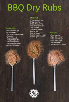 Homemade Spices, Homemade Seasonings, Homemade Gifts For Men, Diy Gifts For Men, Homemade Bbq, Spice Rub, Spice Mixes, Spice Blends, Bbq Dry Rub