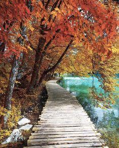 Autumn in Croatia // plitvice lakes