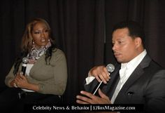 Terrence Howard & Jas Fly during DMD Screening NY Q