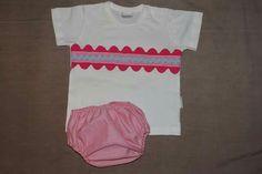 Culetín y camiseta a juego fresquito para el verano