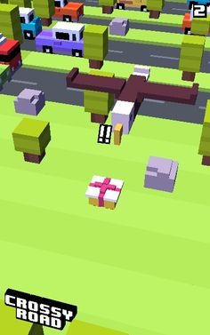 Crossy road gifty is the other mystery  character