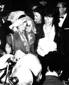 Anita Pallenberg & Keith Richards
