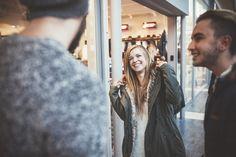 Modeln für den eigenen Shop - Kim im Parka
