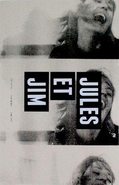 Jules at Jim (dir. F. Tuffaut) / posters