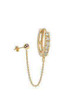 5fd64e620ee Flynn Skye Belladaar - Celeste Chain Earring Gold