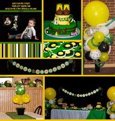 John Deere Birthday Party | Creative Party Place if my brother and sister in law have a baby boy is see this has his 1st birthday party. I am predicting a boy.