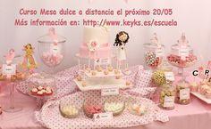 EL próximo curso de mesa dulce será el 20/5. Más información en: http://www.keyks.es/escuela. Animaros¡