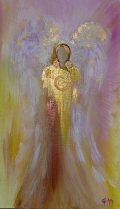 Kunst - Schutzengel... - ein Designerstück von carts bei DaWanda