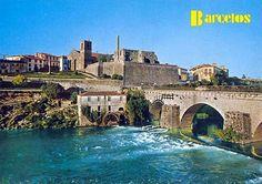 Retratos de Portugal: Barcelos - Ponte e Ruínas do Palácio dos Condes