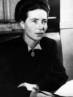 The 9 People You'll Date, According To Simone De Beauvoir - The eminent French intellectual breaks down your most recent relationship.