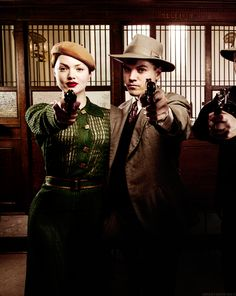 Holliday Grainger as Bonnie Parker